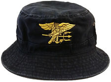 **NAVY SEAL**  VINTAGE BUCKET COTTON MILITARY CAP HAT FREE SHIPPING USA