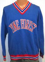 vtg PINE FOREST Blue Sweatshirt XL school team 80s High School Eagles pensacola