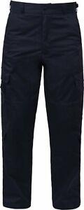 Navy Blue Tactical 9 Pocket EMS Uniform Apparel EMT Pants