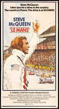 LE MANS 1971 Huge U.S. 3 Sheet poster Steve McQueen Formula 1 F1 FilmArtGallery