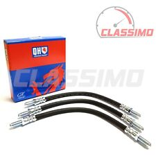 Flexi Brake Hose Set of 3 for FORD ESCORT MK 2 -1.1 1.3 & 1.6 - 1975 - 1980 - QH