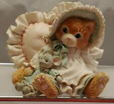"Collectible Calico Kittens ""A Warm Hug With My Friends"" Enesco No 623504 1993"