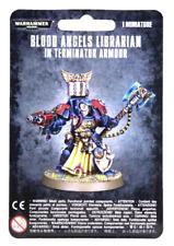 >> Blood Angels Librarian in Terminator Armour Warhammer 40K Nib!