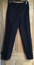 Brand New Women's Cos Black Wide Legged Trousers With High Rise Size 6