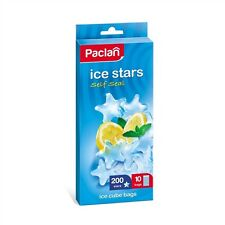 STAR FORM ICE CUBE FREEZER BAG  PARTY DRINK BAR makes 200 CUBES PER packet
