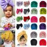 Newborn Toddler Kids Baby Boy Girl Infant Cotton Soft Turban Hat Beanie Cap Wrap