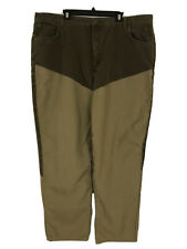 Mens Cabelas Upland Brown Brush Guard Pants Jeans Size 48 Long Field Hunting