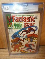Marvel Comics Fantastic four 73 CGC high Grade 8.0 VFN Avengers Thor Daredevil
