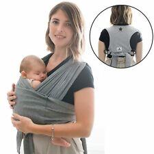 Fascia Porta Bebé Easy-On Neonati fino ai 15 kg elastica con anelli 40 settimane