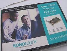 Sohoware Auto 10/100 Ethernet Card for Desktop PCs Model SFA110A