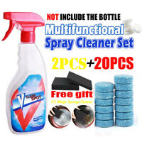 Effervescent Tablet Cleaner Multifunctional Super Clean FOR  SPRAY BOTTLE 20pcs