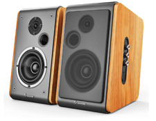 Wohome Bookshelf Speakers 60W Powered Bluetooth Active Home Theater Speaker