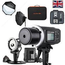 UK Godox AD600BM 2.4G HSS 1/8000s Studio Flash Strobe Bowen Mount Kit For Canon