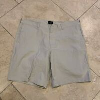 J.Crew Men's Flat-Front Stretch Chino Shorts Beige Size 38
