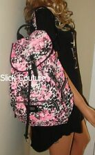 Victoria's Secret PINK Leopard  Backpack Cheetah Animal Book Bag FULL SIZE +GIFT