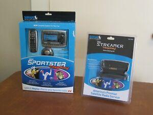 Sirius Sportster Replay SP-R2 Radio w/Vehicle Kit & Home Kit