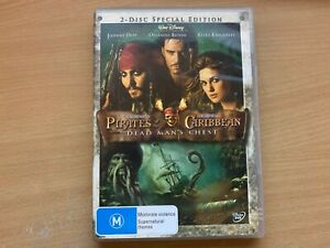 Pirates Of The Caribbean 2 Dead Man's Chest 2-Disc Limited Edition (DVD 2006) R4