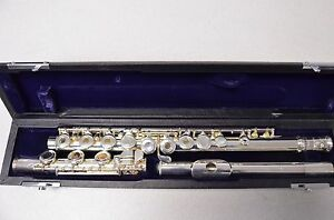 E.F. Dean DA6SHBG Flute, Brand New, French Model, 'B' Foot
