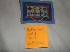 Willitts Amish Collection Katies First Quilt 30012 Quilt/Hoop Replacement Part