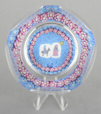 Whitefriars Glass LE Xmas 1978 Millefiori Paperweight 'Journey To Bethlehem'