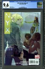 NYX: No Way Home #1 (Marvel  10/08) CGC 9.6 White Pages, Urosov Cover!