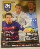 2016 fifa 365 sticker album NO STICKERS official soccer panini 16