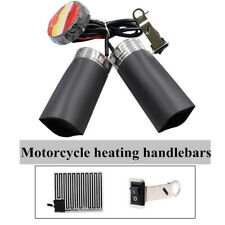 12V Motorcycle Quick Heated Hand Grips Pads Handlebar Heater Warm+ Adhesive Tap