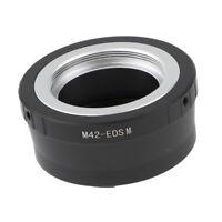 Adaptador de montura lentes M42 42mm a Nikon D3100 D3000 D5000 foco infinito 3D7