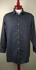 US Polo Association Men's Wrinkle Free Long Sleeve Button Up Shirt - Size (L)