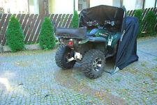 Motorradgarage Motorrad Quad Garage Schutzplane Faltzelt Faltgarage Schwarz XXL
