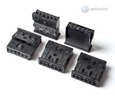 5x BMW ATM TCU 6 pin EVO NBT2 GPS navi plugs retrofit socket housing