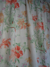 "Laura Ashley Lily Doublé Unique Rideau 55"" largeur X 71"" Goutte"