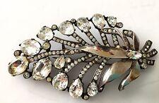 Eisenberg Originals Sterling Silver Fur Clip Brooch Mid Century Estate Jewelry