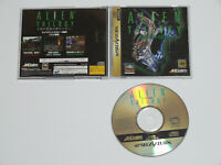 ALIEN TRILOGY SEGA Saturn In Hand Acclaim Import Japan