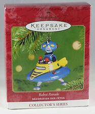 "HALLMARK ""ROBOT PARADE"" , 2001.  NEW IN BOX CHRISTMAS ORNAMENT"