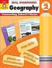 Skill Sharpeners Geography, Grade 2, Paperback by Evan-Moor Educational Publi...