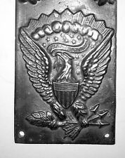 1864 Union Army Artillary Breast or Box Plate3D Union Eagle on Front