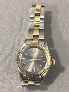 WATCH ROLEX OYSTER PERPETUAL DATE REF. 6718 CAL.2030 STEEL AND GOLD