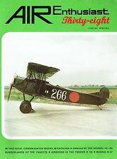 AIR ENTHUSIAST #38 JAN-APR 89: CATALINA/ HEINKEL He 100/ FLYING THE FOKKER D.VII