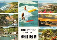 BR89159 greetings from north devon surf uk