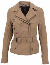 BELSTAFF Damen Jacke Women Jacket ALYN BLOUSON LADY TRENCH Gr. 36 S TECNOCOTTON