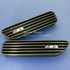 2001-2006 BMW E46 M3 Carbon Look SIDE FENDER GRILLE GRILL VENT