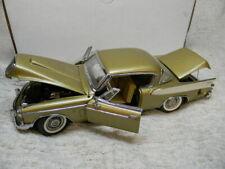 1/24 SCALE 1957 DANBURY MINT STUDEBAKER GOLDEN HAWK DIECAST CAR