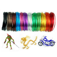5 Meters 1-2.0mm Aluminum Craft Floristry Wire For Jewelry Wrap Craft Making