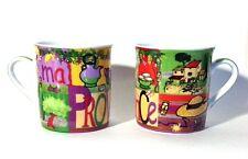 "Espresso Mug - ""Provence"" - 4 oz.,Porcelain Mini Mug, Colorful, Provence Designs"