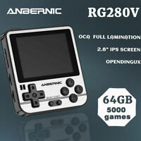 Anbernic RG280V Handheld Game console Retro Game Player in Built Games 128G A4J1