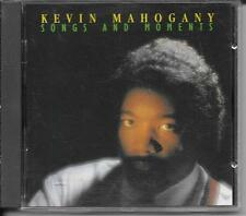 CD ALBUM 12 TITRES--KEVIN MAHOGANY--SONGS AND MOMENTS--1994