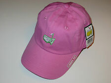 Masters golf Pink Hat ladies fit gem logo new Augusta National 2017 Masters