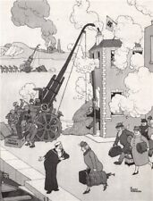 HEATH ROBINSON. Catching a Quisling. Second World War 1973 old vintage print