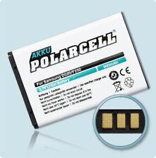 PolarCell Akku für Samsung SGH-F250 SGH-M150 SGH-M200 SGH-M310 Batterie Accu